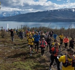 utp1909lues1069; Ultra Trail Running Patagonia Sixth Edition of Ultra Paine 2019 Provincia de Última Esperanza, Patagonia Chile; International Ultra Trail Running Event; Sexta Edición Trail Running Internacional, Chilean Patagonia 2019