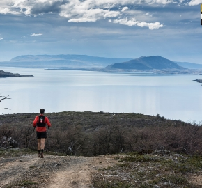 utp1909lues1116; Ultra Trail Running Patagonia Sixth Edition of Ultra Paine 2019 Provincia de Última Esperanza, Patagonia Chile; International Ultra Trail Running Event; Sexta Edición Trail Running Internacional, Chilean Patagonia 2019