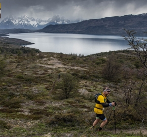 utp1909lues1795; Ultra Trail Running Patagonia Sixth Edition of Ultra Paine 2019 Provincia de Última Esperanza, Patagonia Chile; International Ultra Trail Running Event; Sexta Edición Trail Running Internacional, Chilean Patagonia 2019
