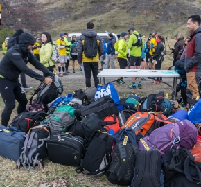 utp1909rome02718; Ultra Trail Running Patagonia Sixth Edition of Ultra Paine 2019 Provincia de Última Esperanza, Patagonia Chile; International Ultra Trail Running Event; Sexta Edición Trail Running Internacional, Chilean Patagonia 2019