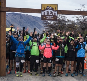 utp1909rome02743; Ultra Trail Running Patagonia Sixth Edition of Ultra Paine 2019 Provincia de Última Esperanza, Patagonia Chile; International Ultra Trail Running Event; Sexta Edición Trail Running Internacional, Chilean Patagonia 2019