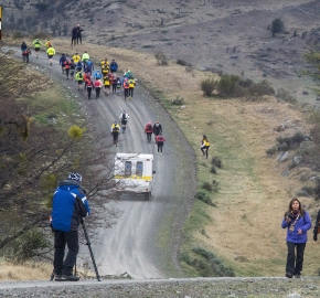 utp1909rome02761; Ultra Trail Running Patagonia Sixth Edition of Ultra Paine 2019 Provincia de Última Esperanza, Patagonia Chile; International Ultra Trail Running Event; Sexta Edición Trail Running Internacional, Chilean Patagonia 2019