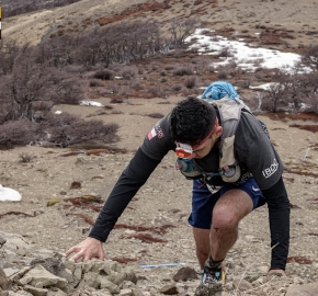 utp1909romo236; Ultra Trail Running Patagonia Sixth Edition of Ultra Paine 2019 Provincia de Última Esperanza, Patagonia Chile; International Ultra Trail Running Event; Sexta Edición Trail Running Internacional, Chilean Patagonia 2019